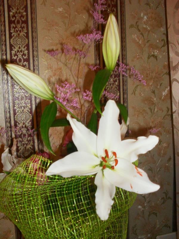 Что означают лилии в подарок 72